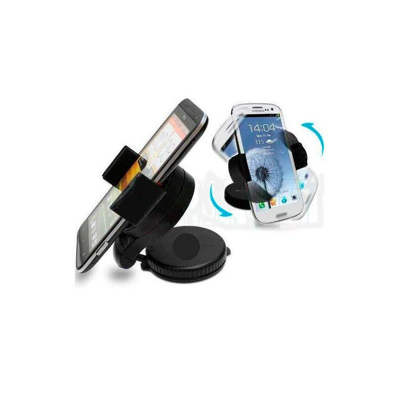 Soporte de Auto Ajustable para Iphone/Samsung/LG/Nokia/GPS
