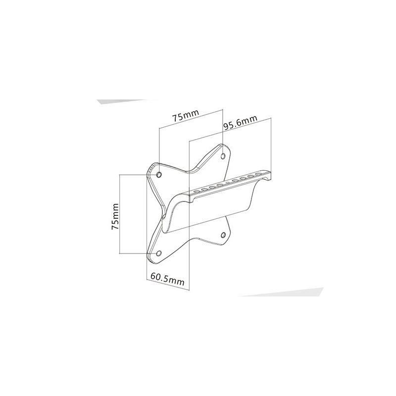 Adaptador para Soporte LCD a75x75mm a Imac 24 y 27