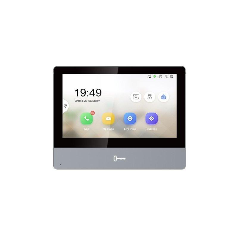 "Monitor Hikvision Videovigilancia Interior con Pantalla Táctil de 7"""