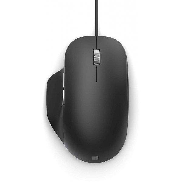 Mouse Microsoft Ergonomic 5 Botones Negro