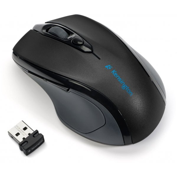 Mouse Kensington Pro Fit Wireless Mid-Size Mouse - Black