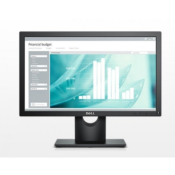 "Monitor Dell E1916H 18.5"" 1366 x 768 16:9 VGA DisplayPort"
