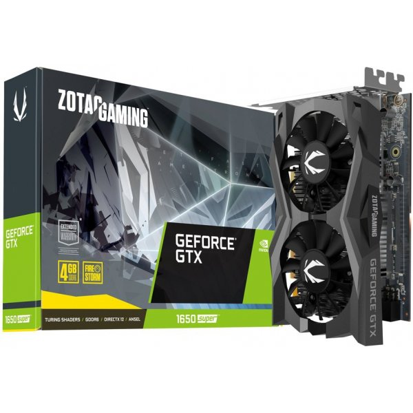 Tarjeta de Video Zotac GAMING GeForce GTX 1650 SUPER Twin Fan 4GB GDDR6