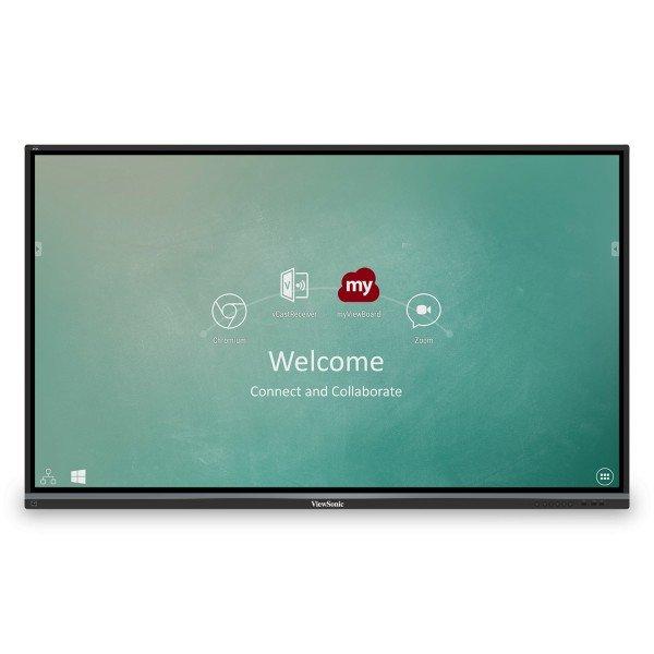 "Monitor Viewsonic Pantalla interactiva 4K ViewBoard® de 75"""