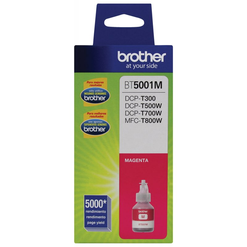 Botella de Tinta Brother BT5001M Magenta