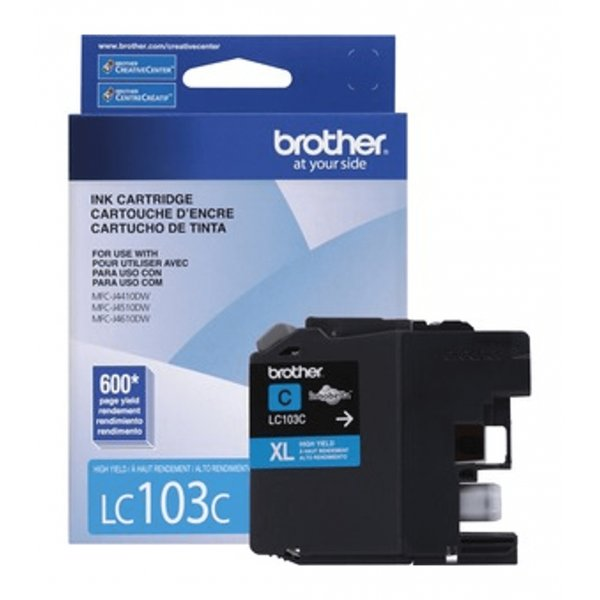 Cartucho de Tinta Brother LC103C Cyan
