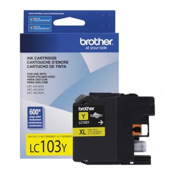 Cartucho de Tinta Brother LC103Y Amarillo