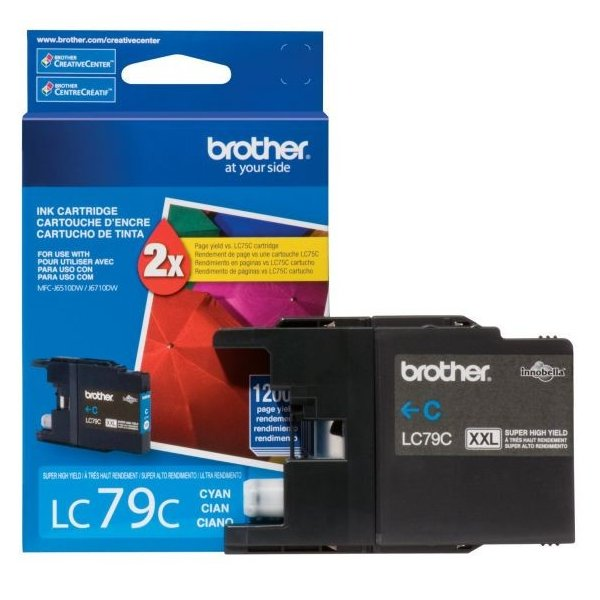 Cartucho de Tinta Brother LC79C Cyan
