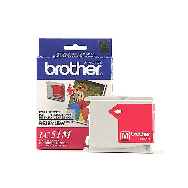 Cartucho de Tinta Brother LC51M Magenta