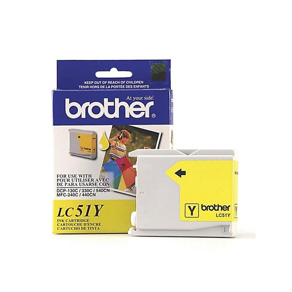 Cartucho de Tinta Brother LC51Y Amarillo