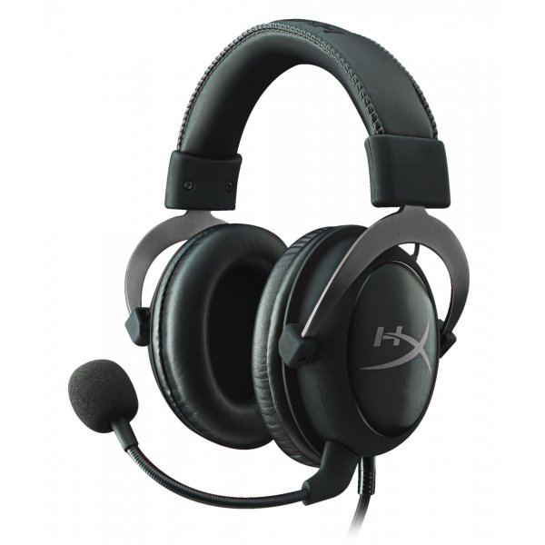 Audifonos Gamer HyperX Cloud II (NegroMetalico)