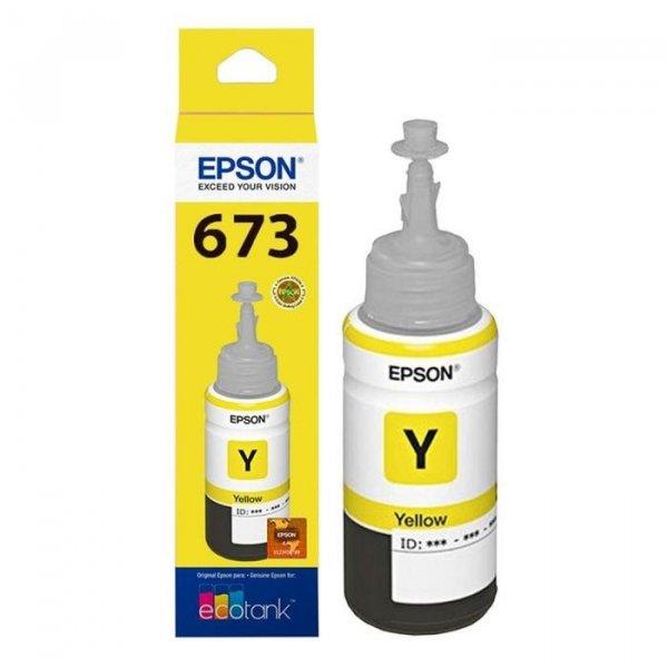 Botella de Tinta Epson Ecotank T673420-AL Amarillo