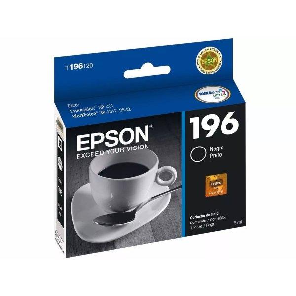 Cartucho de Tinta Epson T196120-AL Negro