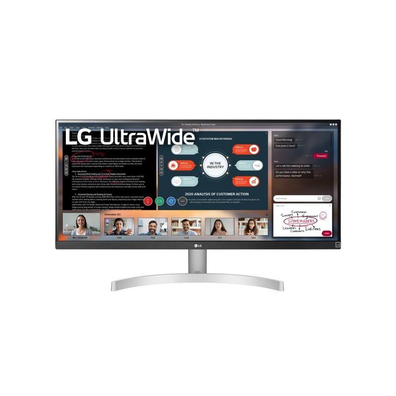 """Monitor LG 29WN600-W 29"""" 21:9, UltraWide WFHD IPS HDR10 75Hz sRGB 99% FreeSync"""
