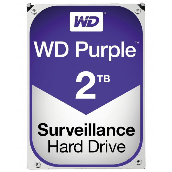 Disco Duro Wester Digital 2TB Purple