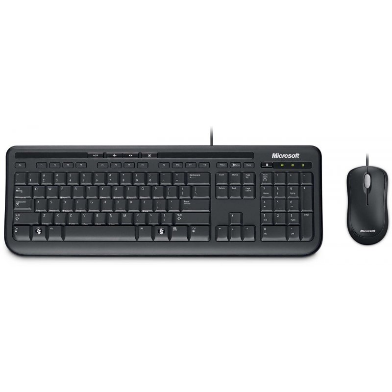 Kit Mouse Teclado Microsoft Desktop 600 Alámbrico