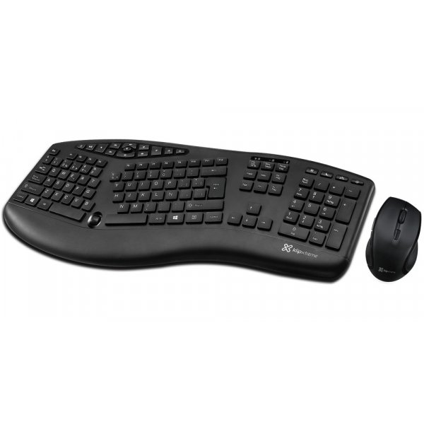 Kit Mouse + Teclado KlipX Majestik Wireless Duo