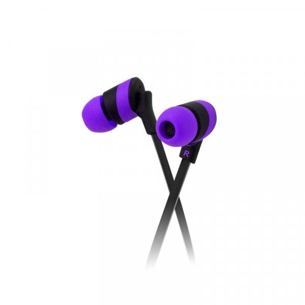 Audífono KlipX KolorBudz Purpura