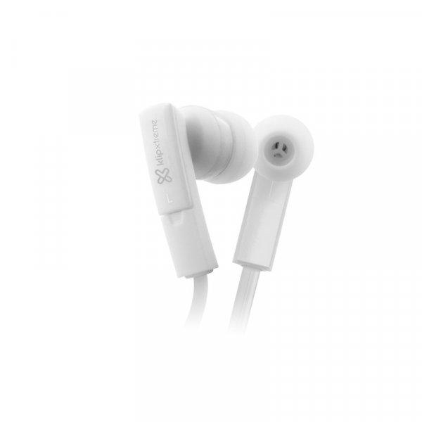 Audífono KlipX Beatbuds Blanco