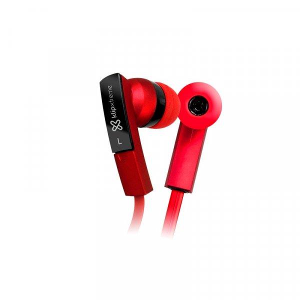 Audífono KlipX BeatBuds Rojo