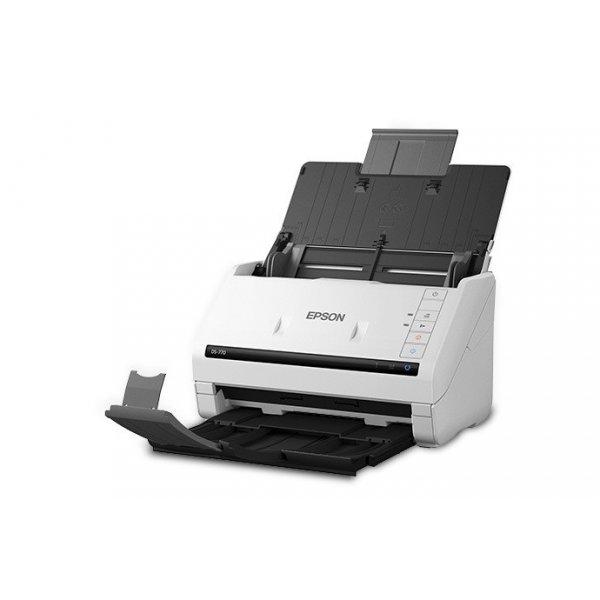 Escaner Epson DS-770 Dúplex a Color Alimentador Automático de 100 Hojas