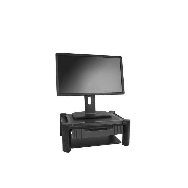 Soporte Startech para Monitor con Cajón y Altura Ajustable