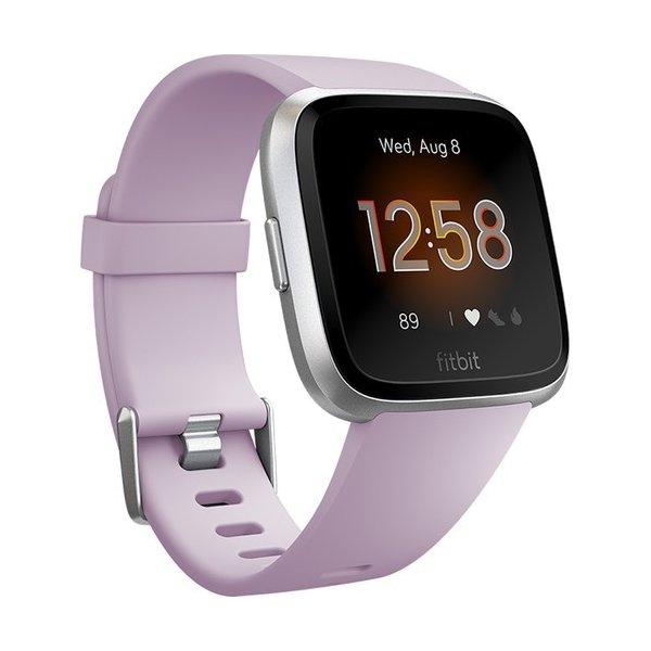 SmartWatch Fitbit Versa lite Lila Plateado