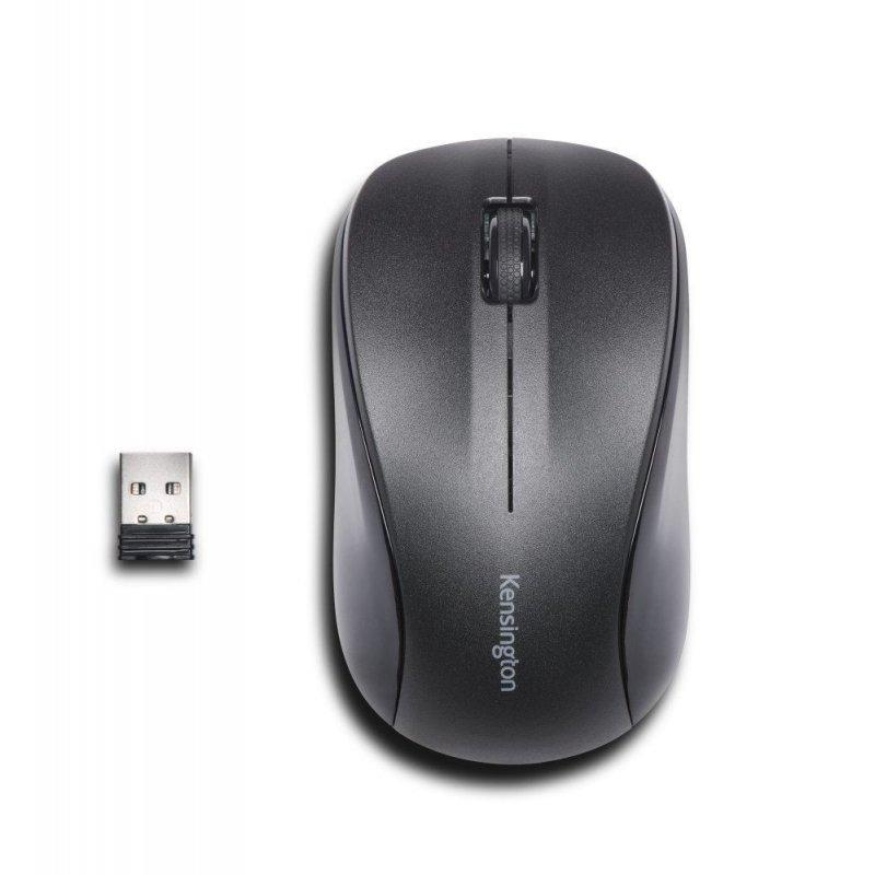 Mouse Kensington For Life 3 Botones 1000DPI Negro Inalámbrico