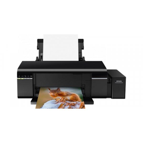 Impresora Epson tinta EcoTank L805 WIfi iPrint Impresión CD/DVD