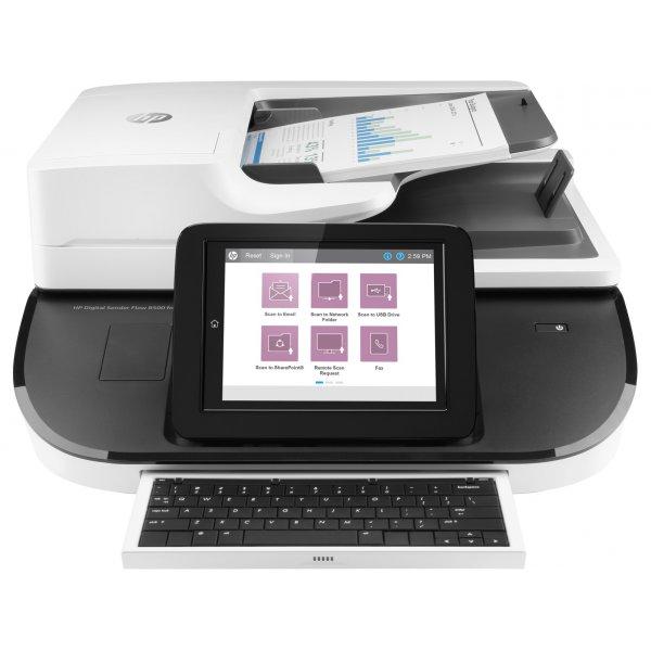 Escáner HP Digital Sender Flow 8500 fn2 216 x 864 mm 600 ppp