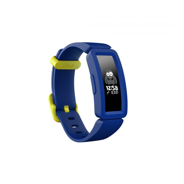 SmartWatch FitBit Ace 2 Kids Activity Tracker Night Sky/Neon Yellow