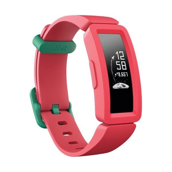 SmartWatch FitBit Ace 2 Kids Activity Tracker Watermelon/Teal