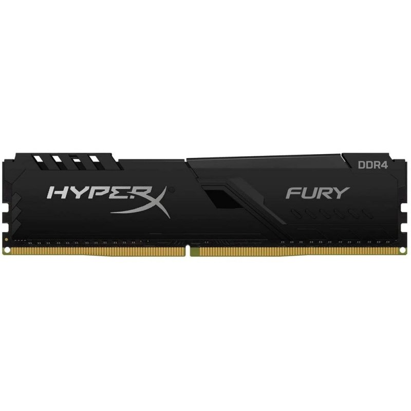 Memoria Ram HyperX Fury Black DDR4 16GB 2666MHz DIMM CL16