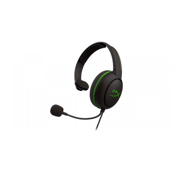 Audífonos HyperX CloudX Chat para Xbox One Con Micrófono Negro/Verde