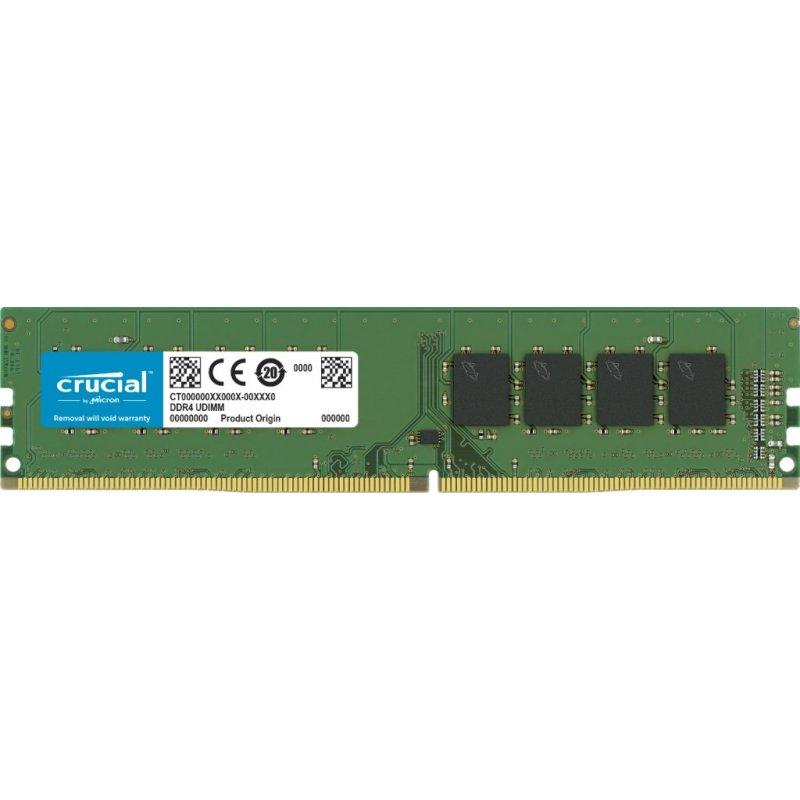 Memoria Ram Crucial de 8GB DDR4 3200MHz CL22 UDIMM