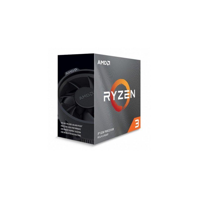 Procesador AMD Ryzen 3 3100 4-Core 8 Hilos 3.6 GHz 3.9 GHz Max Boost Socket AM4 65W sin gráficos