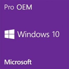 Microsoft OEM Windows 10 Profesional 64Bits Español DVD