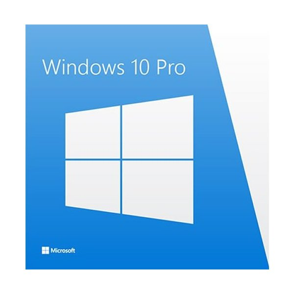 Microsoft OEM Windows 10 Profesional Get Genuine Kit 64Bits Español DVD