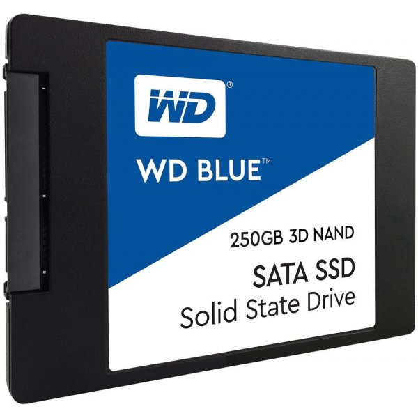 Disco SSD Western Digital Blue 250GB 2.5IN 7mm 3D NAND SATA
