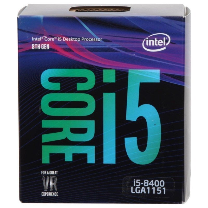 Procesador Intel Core i5-8400K 2.80GHZ 9MB