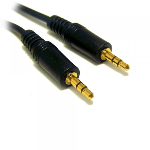 CABLE STEREO PLUG 3.5MM 3 METROS M/M
