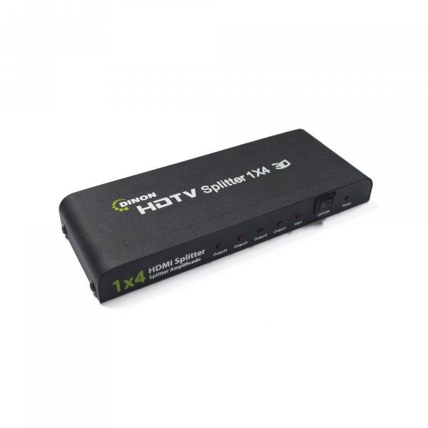 Splitter HDMI Amplificado 4 Salidas Soporta 3D