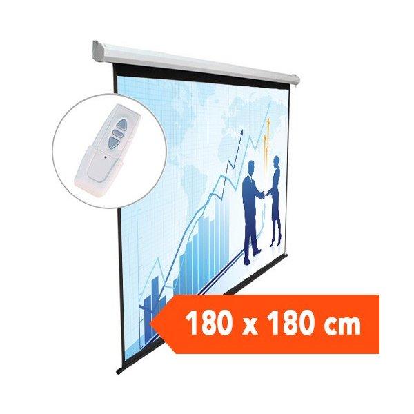 Telon Electrico Dinon 1,80 x 1,80 Remoto Inalambrico