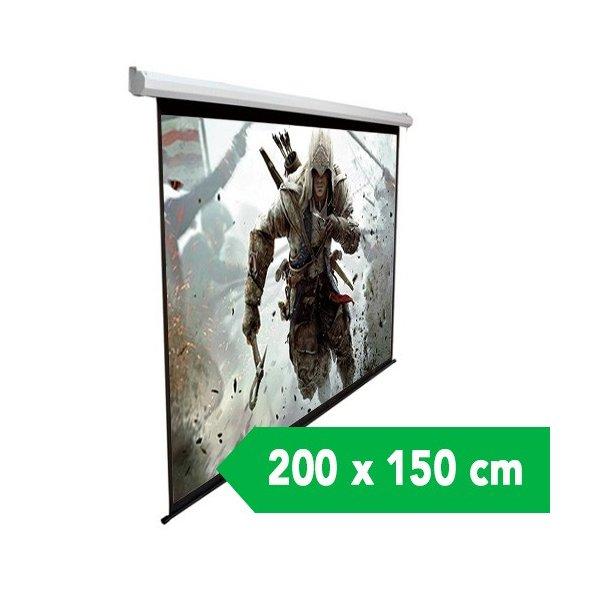 "Telon Mural Dinon 2,00 x 1,50 M 100"" Diagonal"