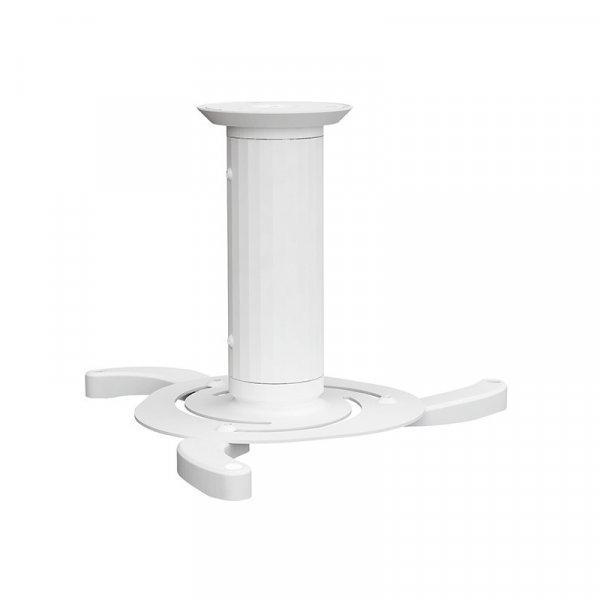 Soporte Para Proyector a Techo 8-17 cm 10Kg Blanco