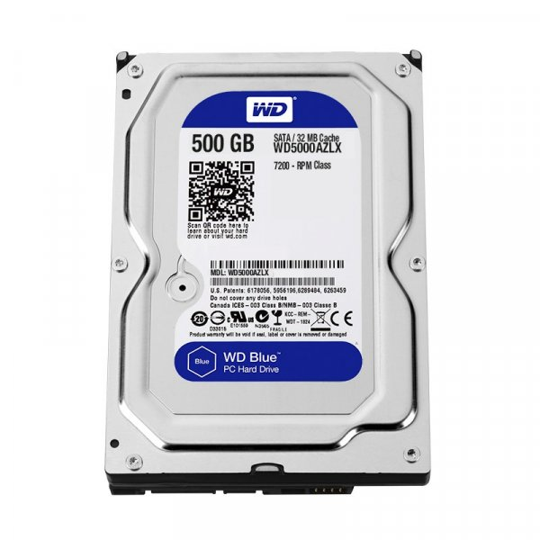 Disco Duro Western Digital 500GB Blue 7200RPM 32MB 3.5IN