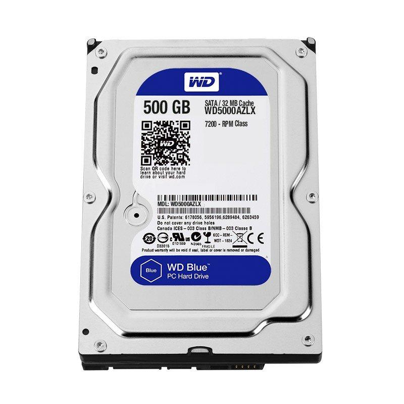 Disco Duro Western Digital 500GB Blue 7200RPM 32MB 3.5IN