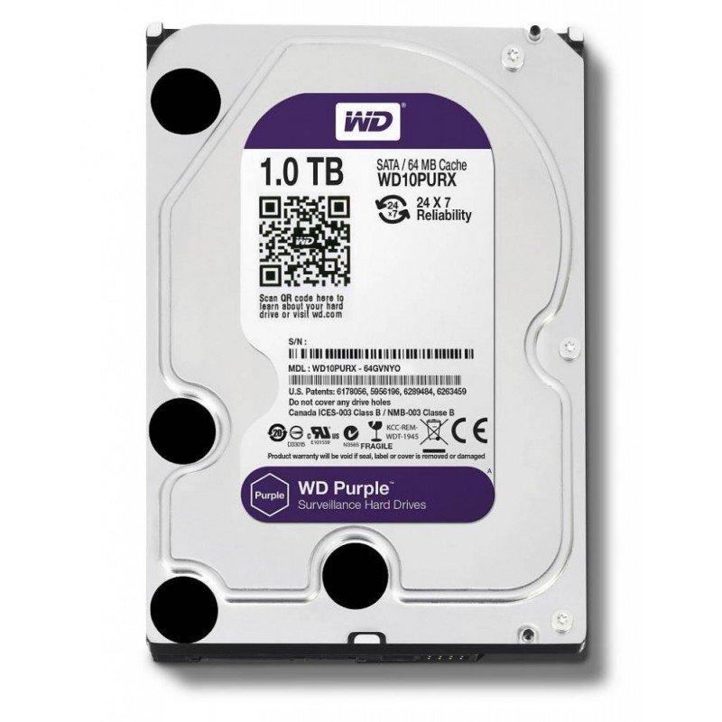 Disco Duro Western Digital 1TB Purple 64MB