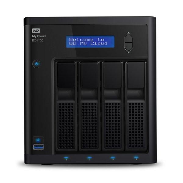 Western Digital Nas My Cloud EX4100 0TB 4Bay Gigalanx x2