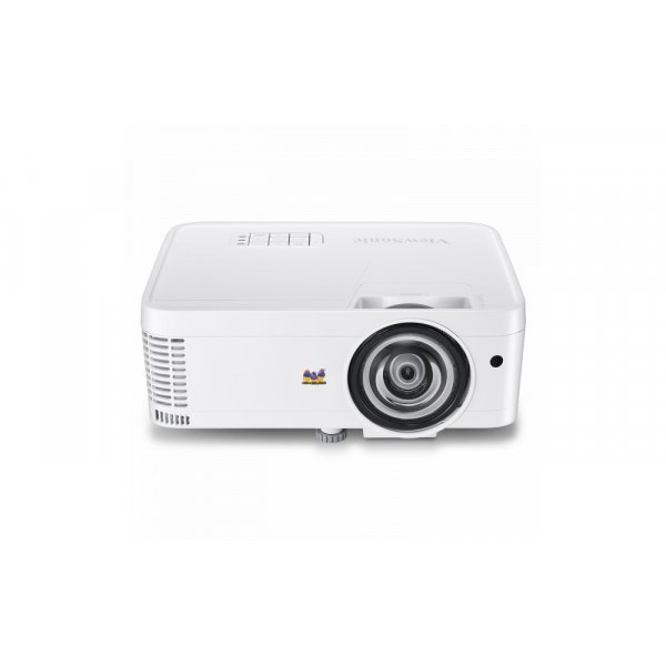 Proyector Viewsonic PS501W WXGA T.Corto 3500L/VGAx2/HDMIX2/RJ45/